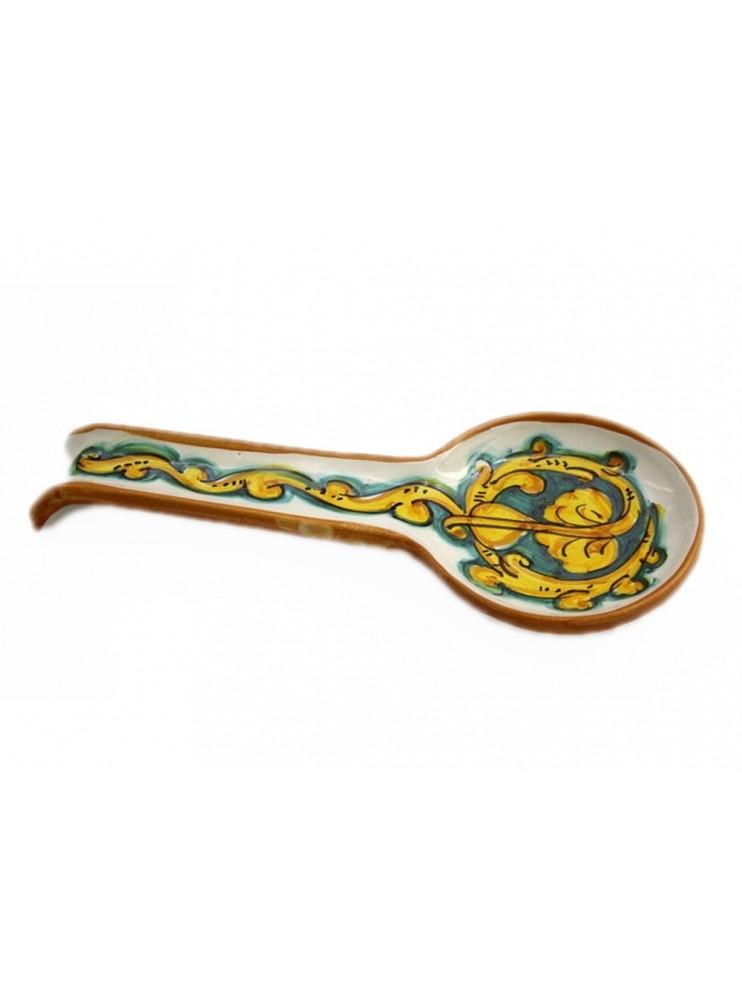 Sicilian ceramic stirrer art.25 dec. Gianluca