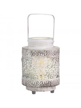 Lume vintage 1 luce bianca lanterna GLO 49276 Talbot