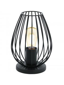 Vintage lamp 1 light black GLO 49481 Newtown