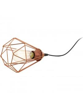 Vintage lamp 1 light copper GLO 94197 Tarbes