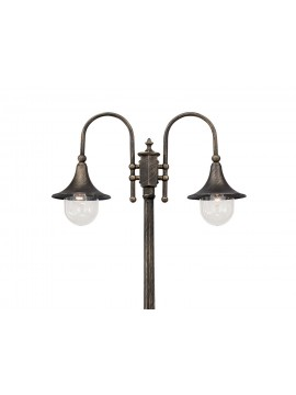 Cima classic outdoor lamp with 2 lights