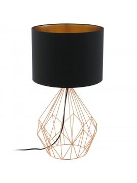 Vintage lamp in black fabric GLO 95185 Pedregal 1