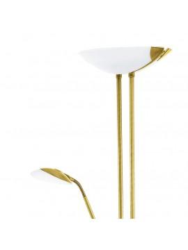 Led classic brass floor lamp GLO 93877 Baya Led