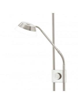 Piantana a led moderna flessibile nickel GLO 93713 Sarrione