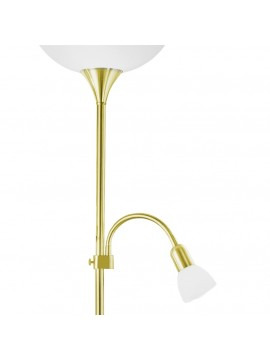 Classic brass flexible base 2 lights GLO 82843 Up 2