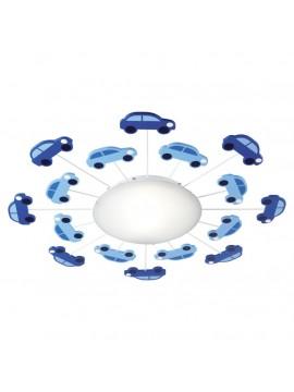 Plafoniera da cameretta azzurra a 1 luce GLO 92146 Viki 1