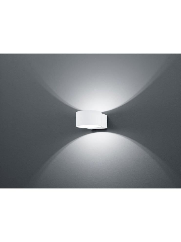 LED wall light 4,5w white modern design biemissione trio 223410131 Lacapo