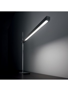 Modern led study lamp Black crane