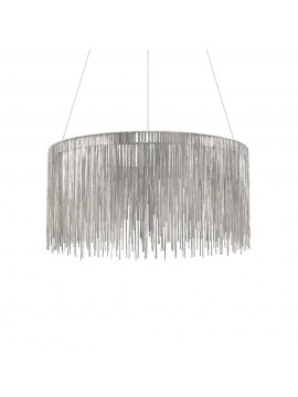 Chrome modern led chandelier Versus