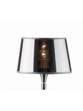 Lumetto moderno 1 luce cromato London small