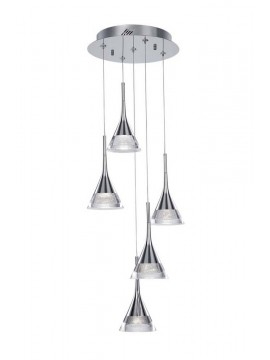 30w modern chrome plated chandelier illuminated Jewel