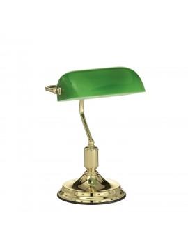 Lampada da studio classica 1 luce Lawyer ottone