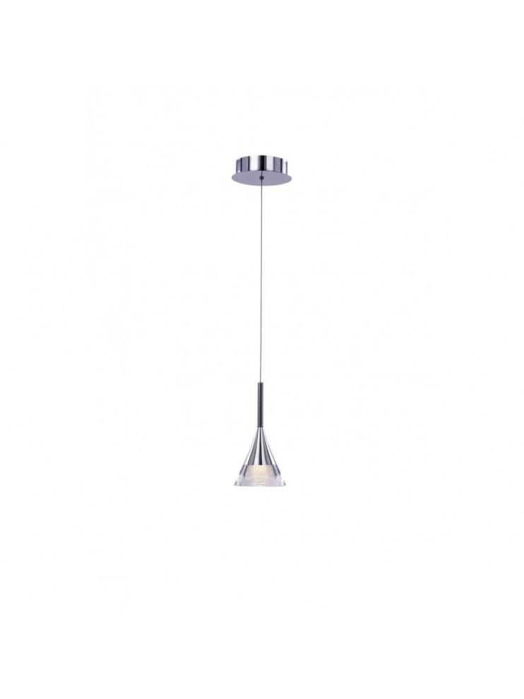 6w modern LED chrome plated pendant lighting Gioiello