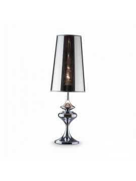 Modern large chrome lamp 1 light Alfiere big