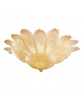 Classic Murano crystal ceiling light 5 lights 2519-plp