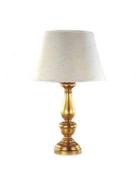 Lume classico in legno foglia oro  1 luce Esse 16/bg
