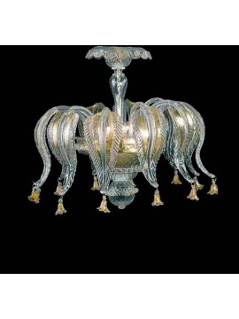 Murano ceiling lamp of Venice 3 lights 7396 / pl
