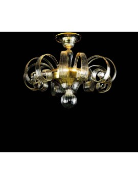 Murano ceiling lamp of Venice 3 lights 7404 / pl