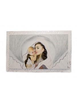 Capezzale quadro moderno sacro madonna 7553-4