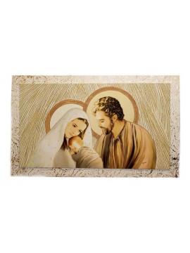 Capezzale quadro moderno sacra famiglia 7553-5