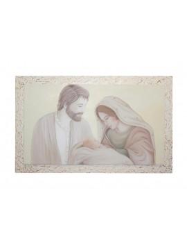 Capezzale quadro moderno sacra famiglia 7553-60