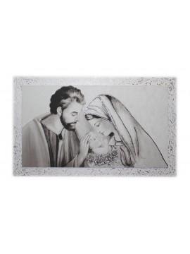 Modern holy family bedside frame 7553-8