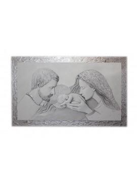 Capezzale quadro moderno sacra famiglia 7553-9