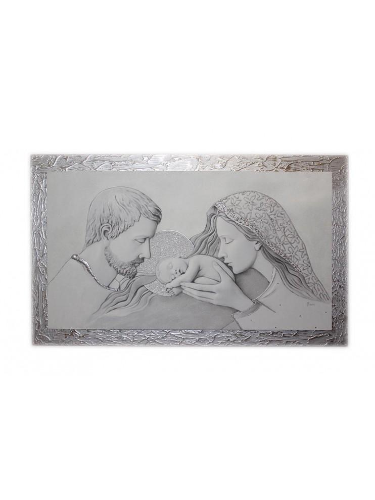 Capezzale quadro moderno sacra famiglia 7553 9 for Sacra famiglia quadri moderni