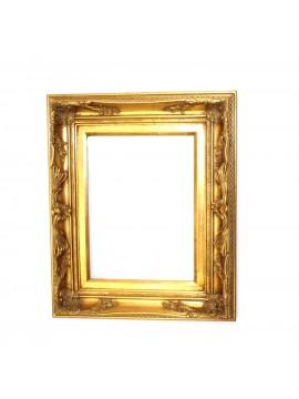 Cornice in legno lavorato oro per quadro 30x40 art.037