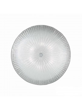 Classic glass ceiling light 6 Shell lights
