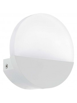5w modern white LED wall light GLO 96039 Metrass 1