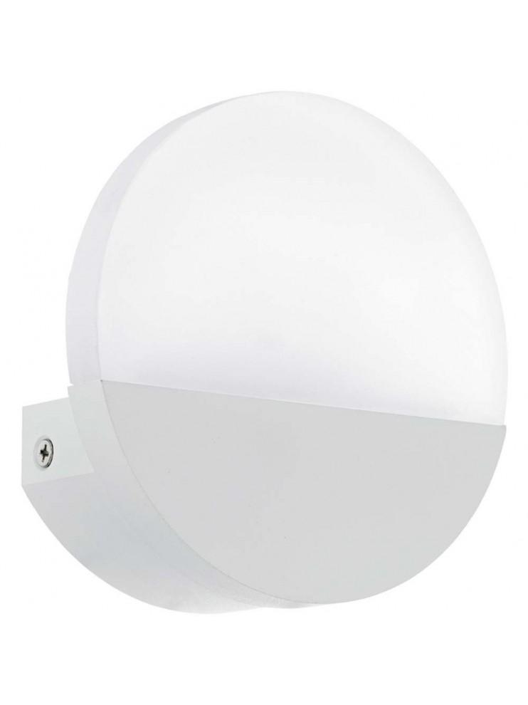 5w modern white LED wall light GLO 96039 Metrass 1