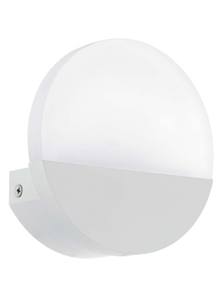 Applique a led 5w moderno bianco GLO 96039 Metrass 1
