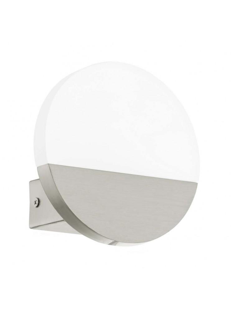 5w modern led wall light nickel GLO 96041 Metrass 1