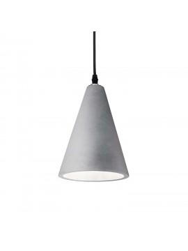 Lampadario moderno in cemento grigio 1 luce Oil-2