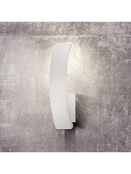 Applique a led 5w moderno design Vela bianco
