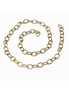 1mt Smooth chain for 2.8mm gold chandelier