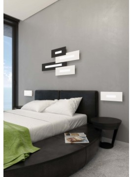 Modern design wall light 1 light tpl 1038-40 black