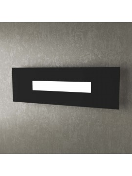 Modern design ceiling light 1 light tpl 1138-50 black