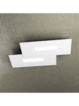 Modern design ceiling lamp 2 lucI tpl 1138-M1 white
