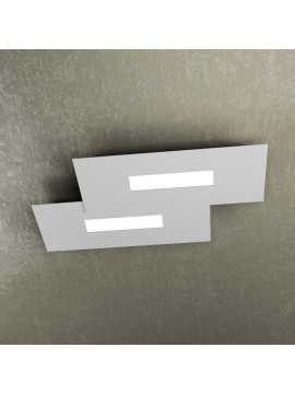 Modern design ceiling lamp 2 lucI tpl 1138-M1 gray