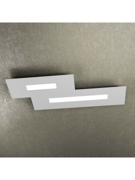 Modern design ceiling lamp 2 lucI tpl 1138-M2 gray