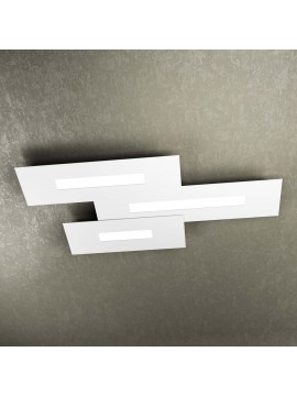 Modern design ceiling light 3 lights tpl 1138-M3 white