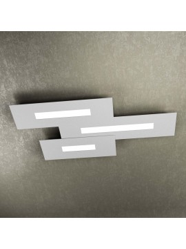 Modern design ceiling light 3 lights tpl 1138-M3 gray