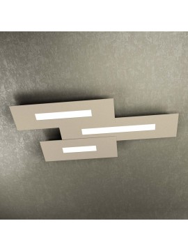 Modern design ceiling light 3 lights tpl 1138-M3 sand