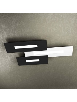 Modern design ceiling light 3 lights tpl 1138-M3 white and black