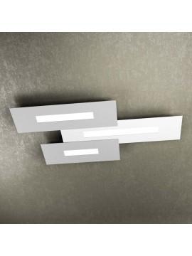 Modern design ceiling light 3 lights tpl 1138-M3 white and gray