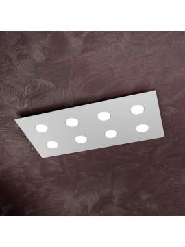 Modern ceiling light 8 lights tpl design 1127-pl8r gray