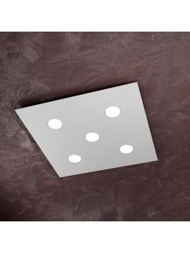 Modern ceiling light 5 lights tpl design 1127-pl5 gray