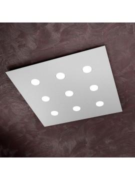 Modern ceiling light 9 lights tpl design 1127-pl9 gray